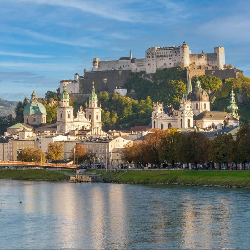 Aufnahme von der Salzburger Festung